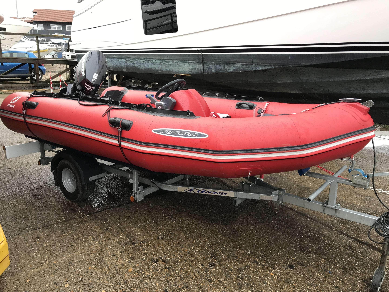 Sold 2016 Zodiac Futura Alu Mark 2 - Boats co uk
